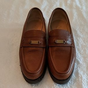 Chanel brown loafer size 8
